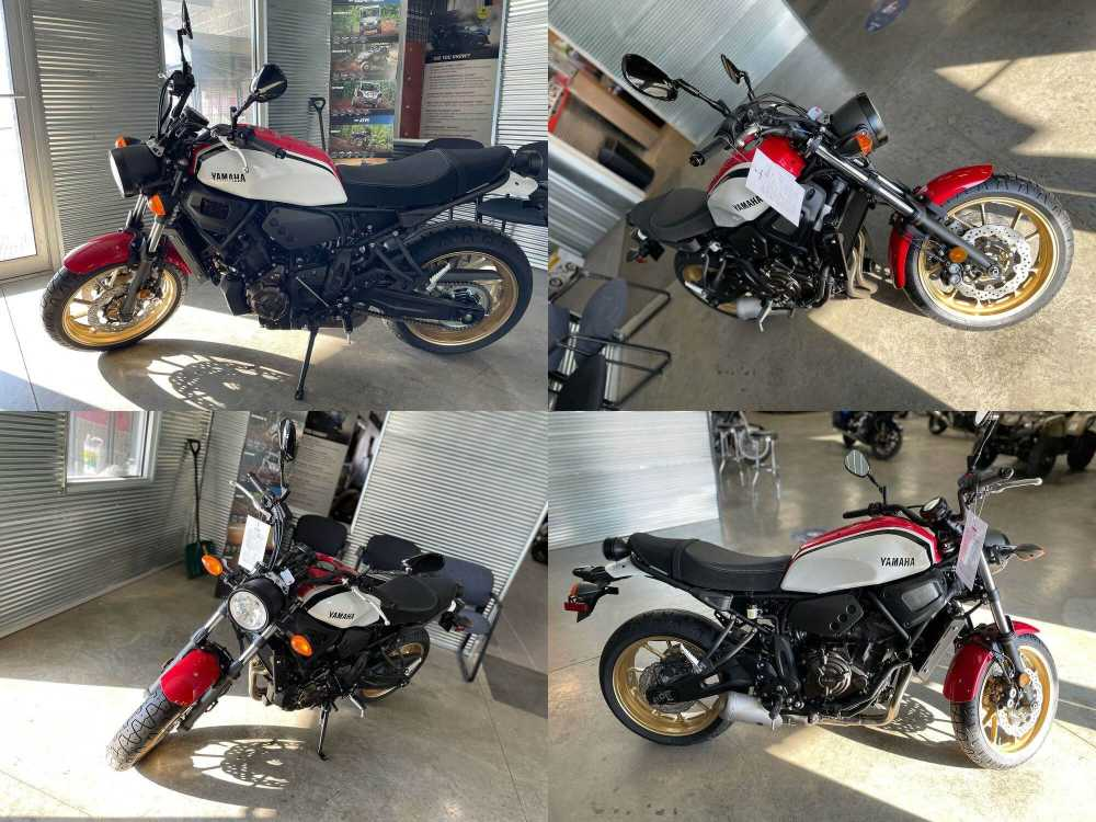 2021 Yamaha XSR700 Red new for sale