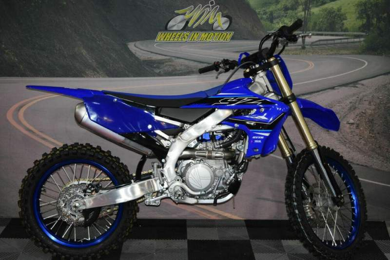 2021 Yamaha YZ450F Blue new for sale