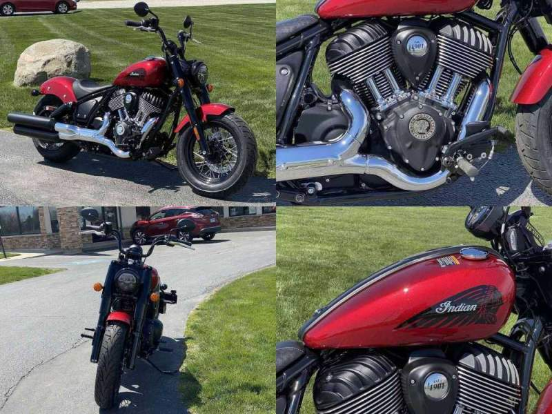 2022 Indian Chief Bobber ABS Ruby Metallic RUBY METALLIC new for sale