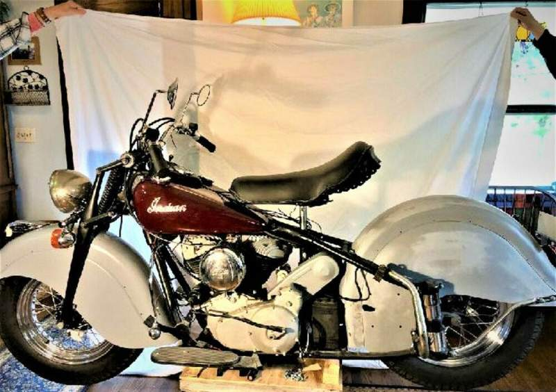 1947 Indian Chief with Sidecar  for sale craigslist