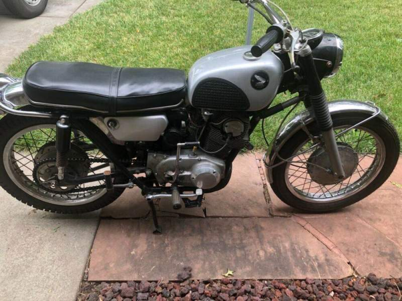 1967 Honda CL Gray used for sale usa