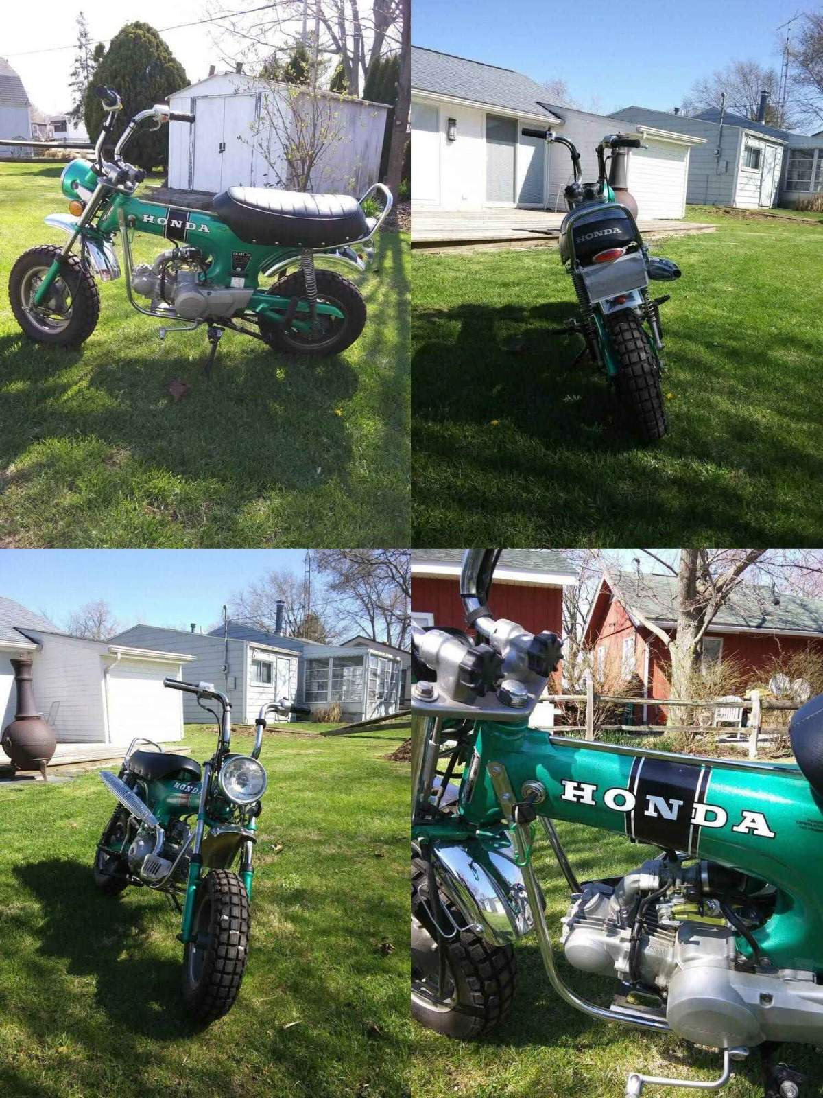 1969 Honda CT Green used for sale usa