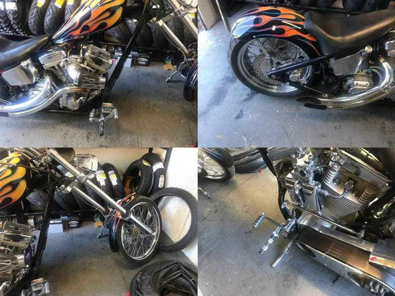 2004 Custom Built Motorcycles Chopper  used for sale usa