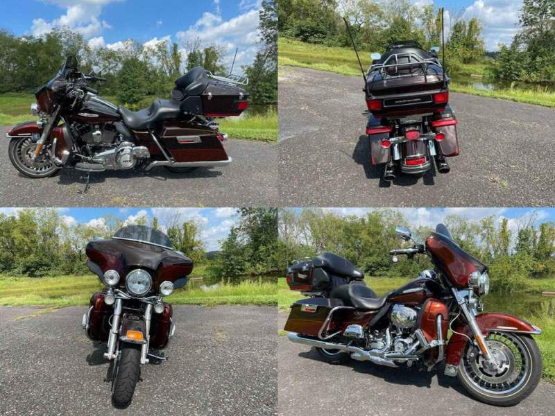 2011 Harley-Davidson Touring Electra Glide® Ultra Limited Dark Candy Root Beer & Light Candy used for sale craigslist