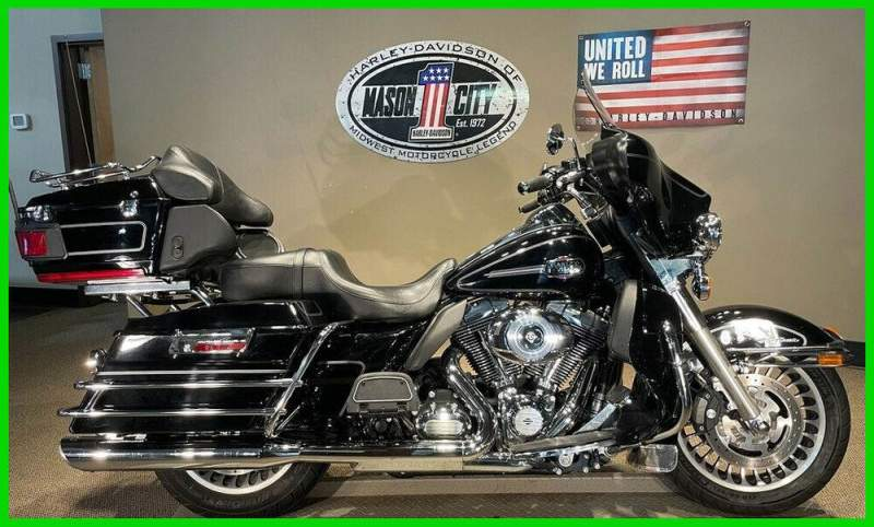 2013 Harley-Davidson Touring Electra Glide® Ultra Classic® Vivid Black used for sale usa