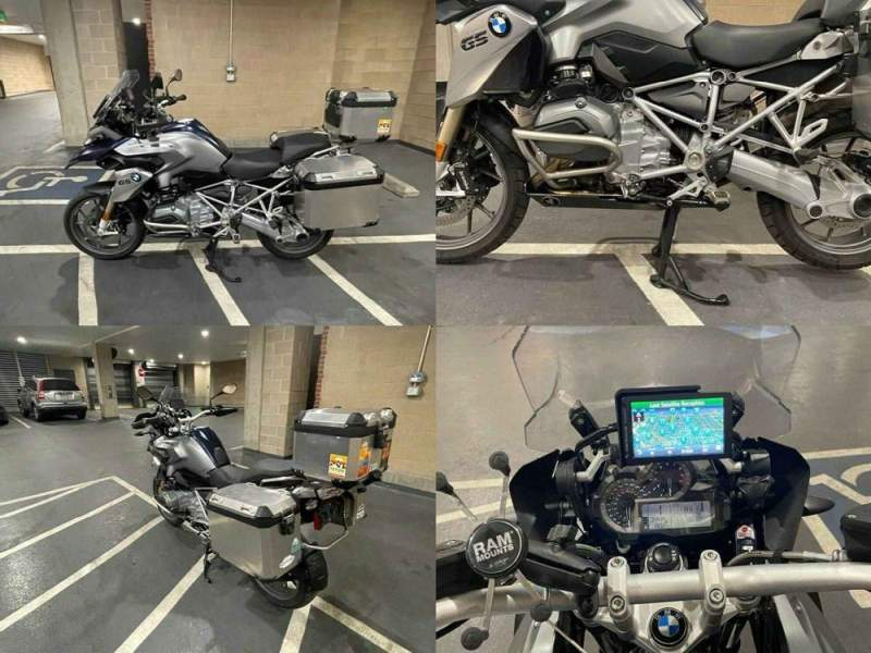 2016 BMW R-Series Blue used for sale usa
