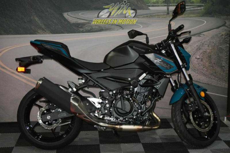 2021 Kawasaki Z400 ABS Blue new for sale