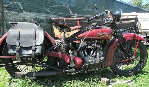 1931 Indian Scout Red photo