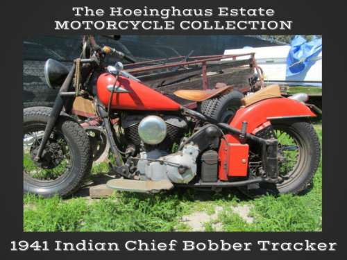 1941 Indian Chief Red-Orange for sale craigslist