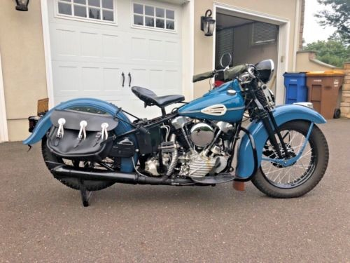 1942 Harley-Davidson FL KNUCKLEHEAD Blue for sale craigslist