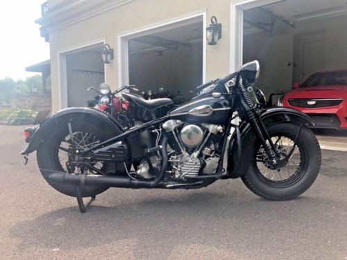 1945 Harley-Davidson FL Black for sale
