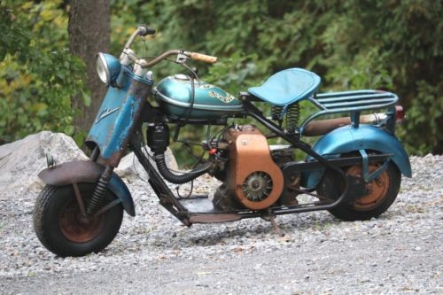 1956 Cushman EAGLE Blue for sale