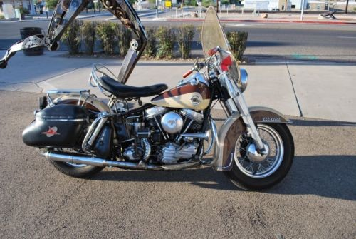 1958 Harley-Davidson FL Duo-Glide Brown and Cream for sale