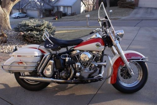 1958 Harley-Davidson Touring Duo Glide Red craigslist