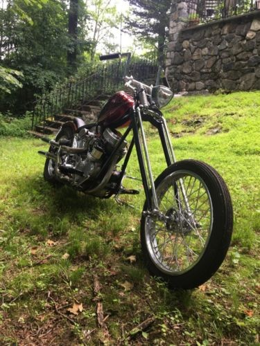 1961 Harley-Davidson Other Red black and silver metslflake for sale