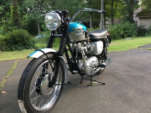1961 Triumph Bonneville Blue Silver for sale