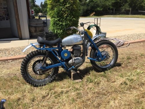 1962 Greeves Moto-Cross Blue for sale