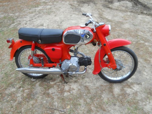 1965 Honda C200 90cc Scarlet Red for sale