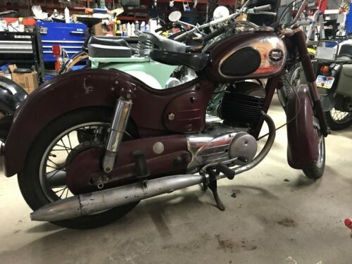1965 Other Makes SEARS ALLSTATE PUCH 250 SGS Burgundy craigslist
