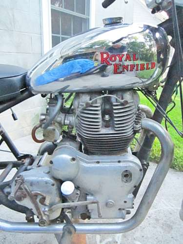 1965 Royal Enfield Interceptor Black / chrome for sale craigslist