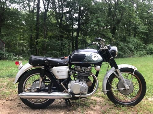 1966 Honda CB Black for sale