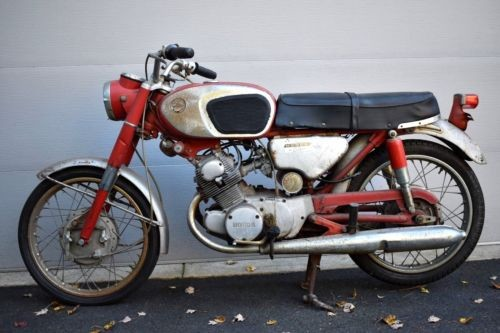 1966 Honda CB Red Silver for sale craigslist