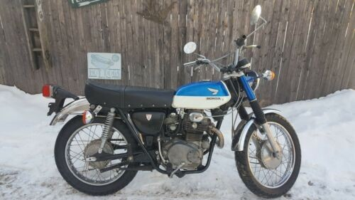 1967 Honda CL Blue for sale craigslist