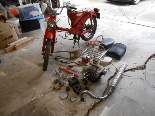 1967 Honda CT Red for sale