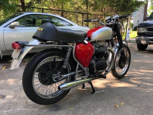 1968 BSA FIREBIRD RED craigslist