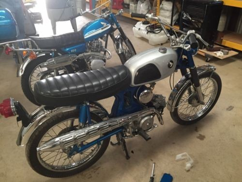 1968 Honda CL Blue for sale craigslist