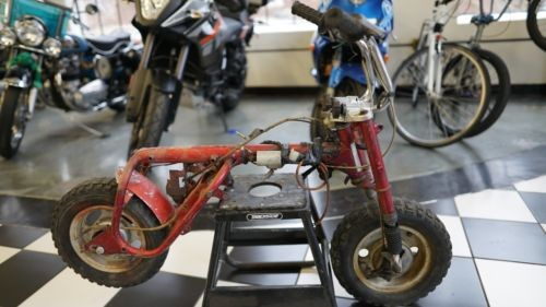 1968 Honda Z50 Red photo