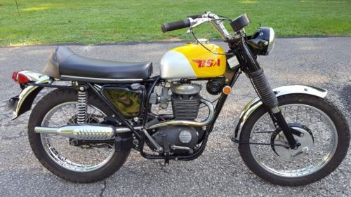 1969 BSA VICTOR SPECIAL Yellow for sale craigslist