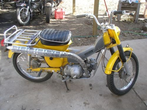 1969 Honda CT Yellow for sale craigslist
