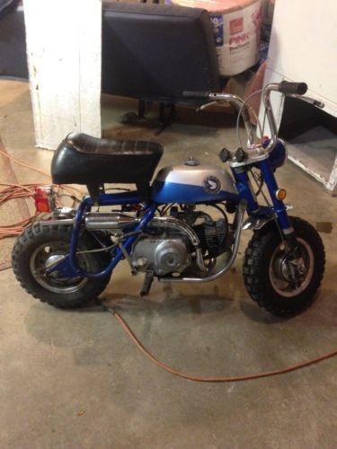 1969 Honda Mini Trail 50 Silver Tag craigslist