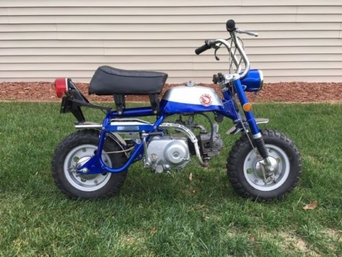 1969 Honda Z50A MINITRAIL BLUE/SILVER for sale