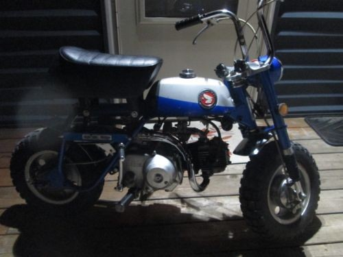 1969 Honda Z50A Blue/Silver for sale craigslist