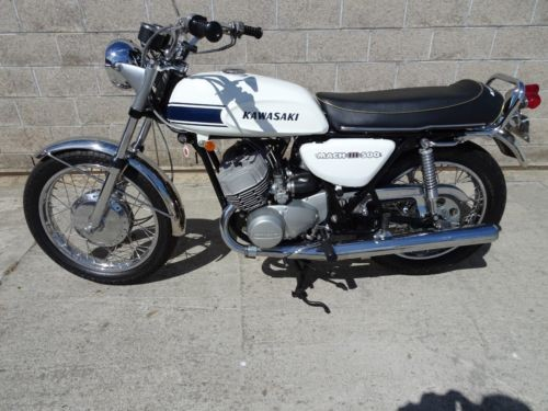 1969 Kawasaki H1 Mark III White for sale