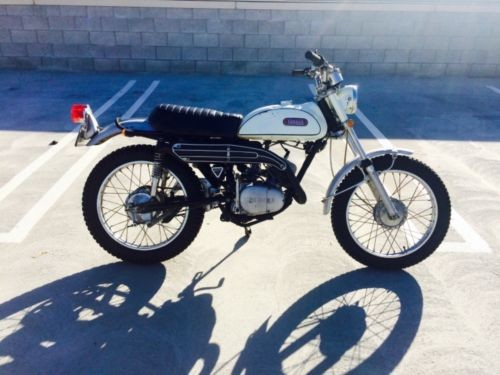 1969 Yamaha Enduro 125 White/Black/Chrome for sale craigslist