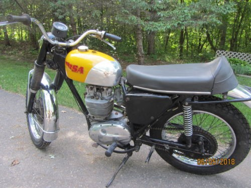 1970 BSA 441 Victor Yellow for sale craigslist