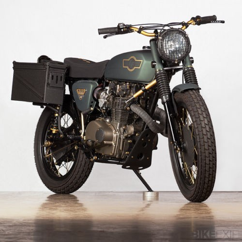 1970 Custom Built Motorcycles Honda CL450 Army Green for sale craigslist