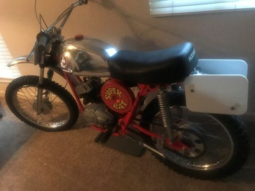 1970 Hodaka Super Rat MX Red for sale craigslist