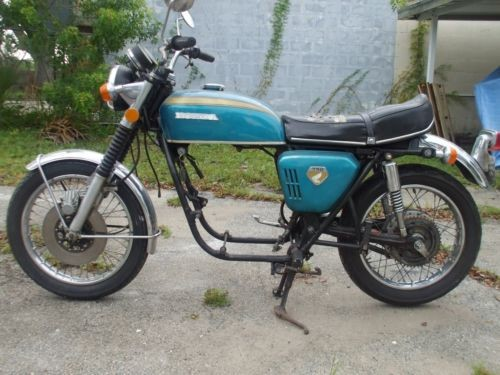 1970 Honda CB Blue for sale