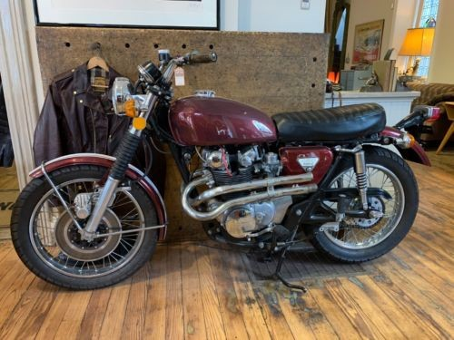 1970 Honda CB Candy Apple Red for sale