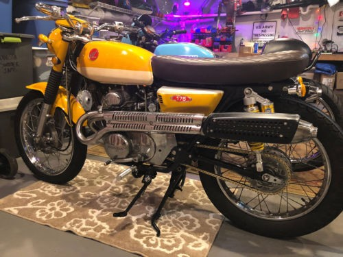 1970 Honda CL Yellow for sale craigslist