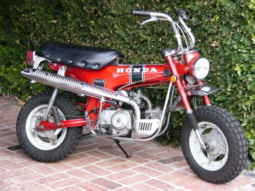1970 Honda CT red for sale craigslist