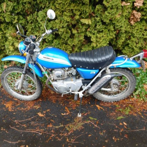 1970 Honda SL Blue for sale craigslist