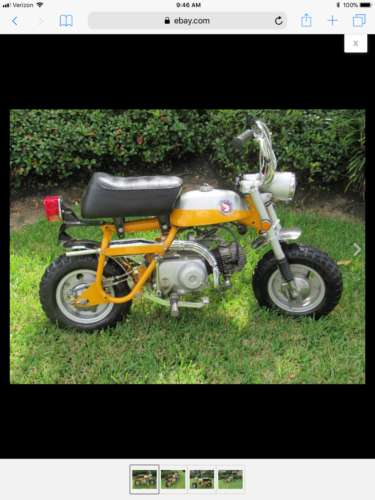 1970 Honda Z50 Mini Trail Yellow craigslist