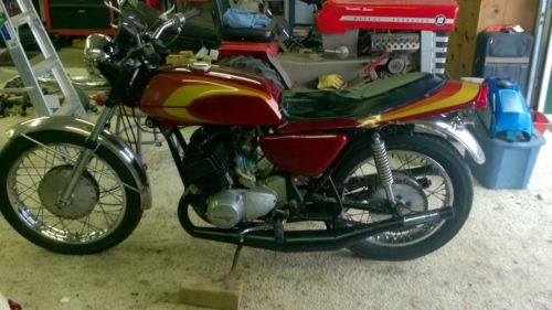 1970 Kawasaki Mach III Red for sale