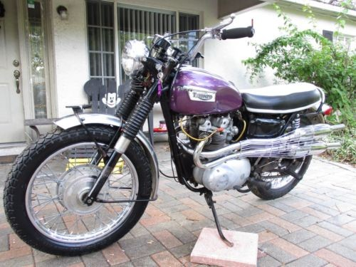 1970 Triumph Tiger for sale craigslist