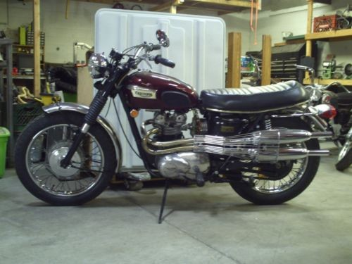 1970 Triumph Trophy Burgundy for sale